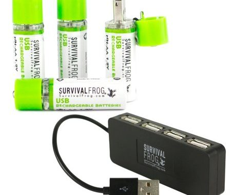 Ultra charge USB batteries and Easy power USB batteries